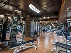 Fully Renovated Fitness Center w/ Cardio & Strength Training Equipment