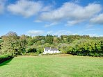 Peace and seclusion can be enjoyed by visitors to Glasfryn