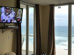 42'  HD TV with DVD in Master Bedroom