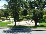 Park view of Twelftree Reserve from balcony