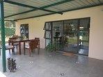 Spacious veranda