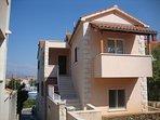 Apartment Marita, private covered balcony