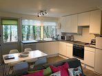 refitted kitchen and dining area