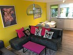 Funky holiday chalet
