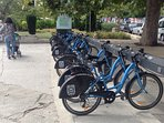 Bicycle hire at Balchik seafront - cycle to Albena !