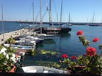 The marina at Balchik