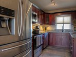 Full Modern kitchen with dishwasher and microwave
