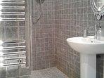 Shower/Wet room with underfloor heating