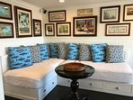 Captains Beds Sofa Room Open to Deck with BEST Views!! Casa de Balboa Newport Beach Vacation Rentals