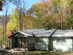 The 1960 cottage has been completely remodeled, beginning with the front porch.