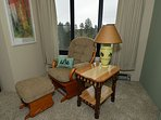 Relax, read, take in the mountain views at over 4800' elev.