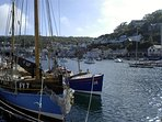 Nearby Looe harbour