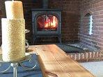 Stunning log burner