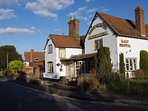 The Malt Shovel is one of two pubs in Bubbenhall village.
