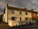 The Three Horseshoes is one of two pubs in Bubbenhall village