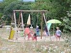 Au domaine, les enfants passent de vraies  vacances, pour le bonheur des petits et des grands.