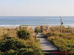 Ocean View & Beach Access from 1st Floor Porch