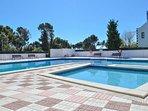 La piscine de la résidence réservée aux résidents