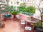 One of two amazing terraces overlooking the historic center