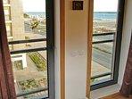 View from master bedroom towards marina