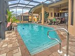 Look forward to taking dips in the private pool on simmering days.