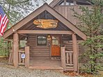 This home is a true log cabin made out of logs and furnished with locally hand-made furniture.