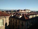 La vista sui tetti di Torino...