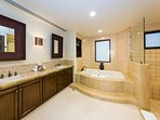 Second Master with Shower and Jacuzzi Tub