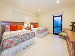 Third Bedroomw with Two Queen Beds