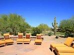 Lounge in the warm AZ sun!