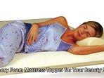Memory Foam Mattress Topper for Your Beauty Sleep