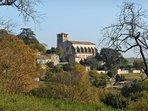 La Collégiale saint-Martin, de Montpezat-de-Quercy