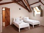 Beech twin bedroom