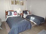 Master Bedroom with Two Twins
