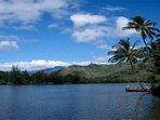 Wailua River closeby