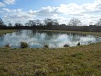 Fabulous lake ideal for a relaxing afternoon,stocked with Trout and Tench