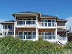 Modern Ocean Front Home on a Sandy Beach! Hot Tub & Game Room! FREE NIGHT