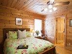 Master bedroom w/queen on the main