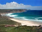 Many beaches are within 1 hours drive of Honeycombe Lodge
