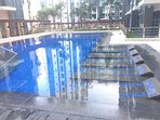 Outdoor Pool beside this pool is the Gym that can be use of the guest