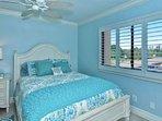 Queen Bed in Larger Guest Bedroom
