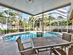 Private Pool (Pool Heat Additional Charge at Time of Booking); Ample Lounging and Seating; Private Grill; Northern...