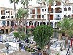 Views of Villamartin Plaza from the Balcony