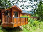 Alder Lodge, Killin Log Cabins