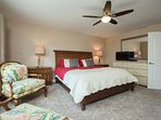 Spacious master bedroom with ensuite!