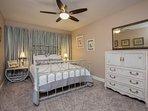 Beautiful, serene queen bedroom