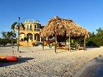 Best Walk in Beach at a Rental House in Belize.
