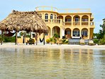 Villa Mandevilla from the Ocean.