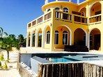 Private Pool at Villa Mandevilla