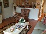 Recliner in Living Room